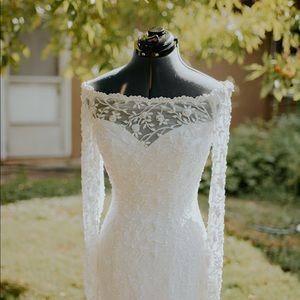 Oleg Cassini wedding dress petite